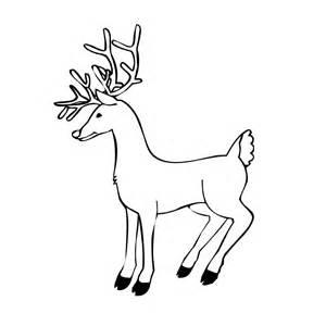 Reindeer antler pattern coloring sheet coloring pages
