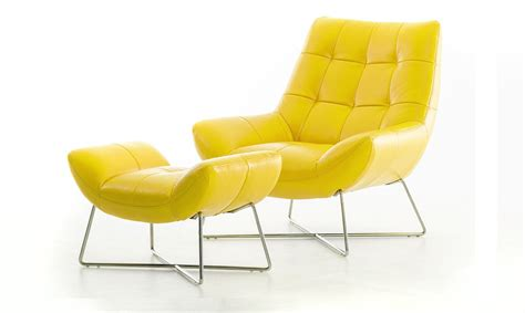 yellow chair with ottoman yellow leather chair with ottoman design ideas furniture