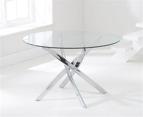 Denver Dining Table Denver 120cm Glass Dining Table With Calgary Chairs The Great Furniture Trading Company