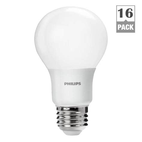 Lu Led Philips 16 Watt philips 461137 60 watt equivalent daylight a19 led