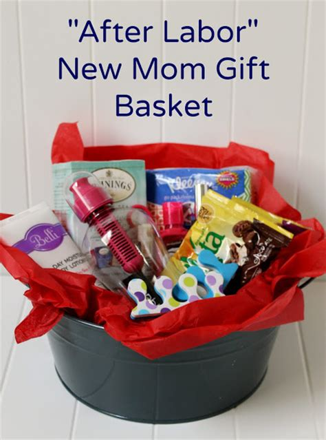 Gifts For New Mothers - create a diy new gift basket for after labor