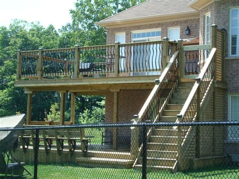 second story deck plans pictures pinterest