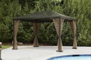 grand resort hardtop gazebo