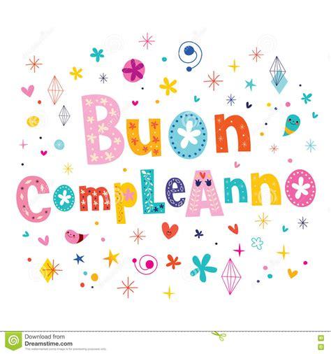imagenes feliz cumpleaños en italiano cumplea 241 os del compleanno de buon feliz en tarjeta de