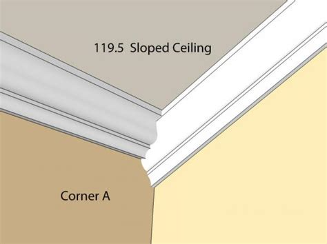 Crown Molding On Angled Ceiling by Installing Crown Moulding On A Sloped Ceiling