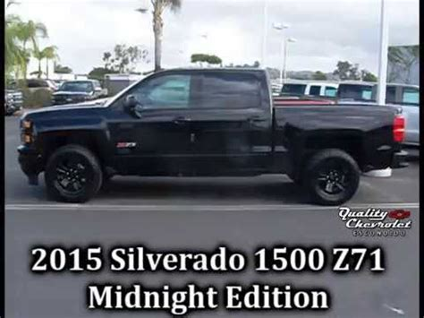 silverado wd ltz midnight edition youtube