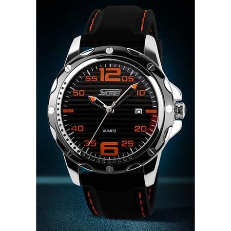 Jual Jam Tangan Pria Skmei Sport Ledwaterproof Wate jual jam tangan sport pria merk skmei