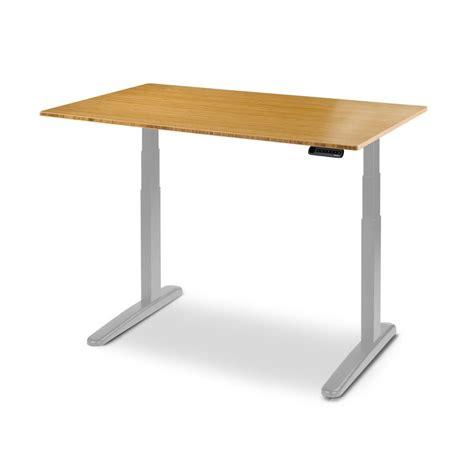 jarvis bamboo adjustable standing desk jarvis bamboo adjustable height standing desk ergo depot