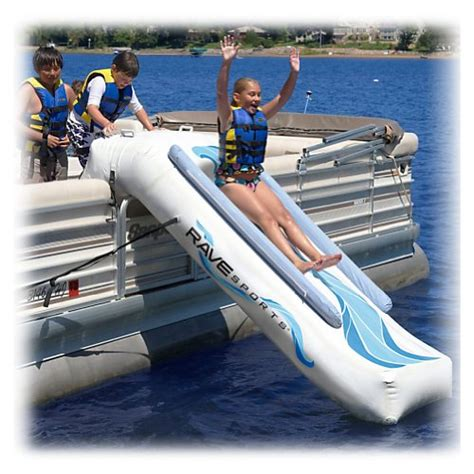 pontoon water slide rave pontoon slide water troline attachment 2014 buy