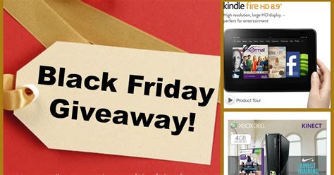 Amazon Giveaway Black Friday - anyonita nibbles black friday giveaway