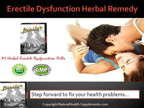herbal remedy for erectile dysfunction authorstream