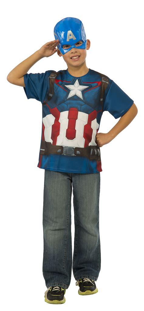 T Shirttshirttshirtkaos Captain America captain america boys t shirt costume tv book and costumes mega fancy dress