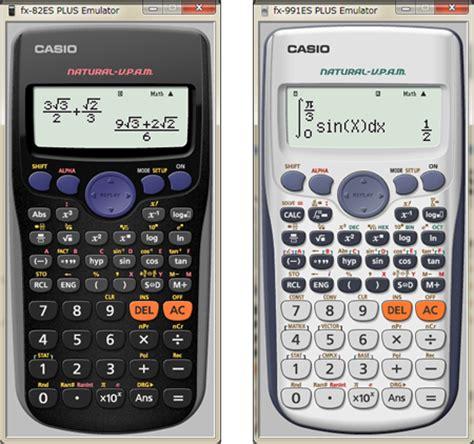 Casio Calculator Fx 82 Es Plus fx es plus emulator supporting options in the classroom