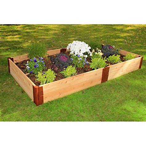 Wooden Raised Garden Bed Kits by Top 17 Best Cedar Raised Garden Bed Kits 2018