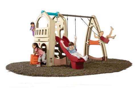 step 2 climber and swing step2 naturally playful playhouse climber and swing