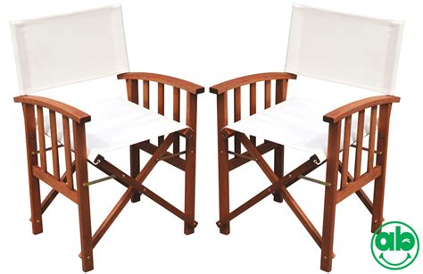 sedie da regista in legno coppia sedie regista richiudibili in legno meranti tessuto