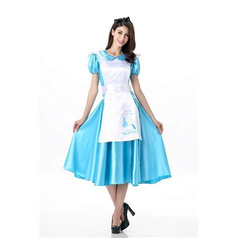 alice in wonderland costume alice in wonderland costumes deluxe alice wonderland costume apron dress n11675
