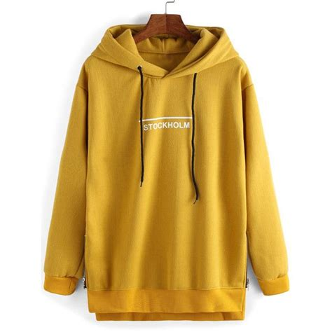 Lettering Panel Pullover 25 best yellow hoodie ideas on hilfiger