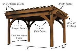 14x14 Pergola Plans timberkits luxury outdoor rooms pergolas pergola kits