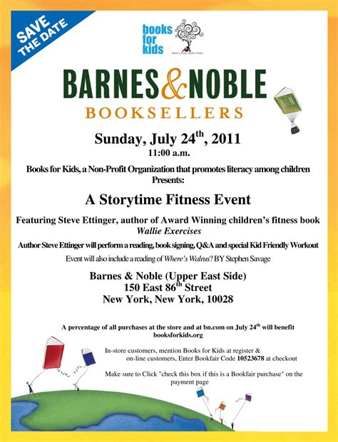 Can Barnes And Noble Books Be Read On Kindle free nyc b n and books for storytime fitness event
