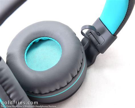 Headphone Bluetooth Sonic Gear Airphone V sonicgear airphone v bluetooth headphone review goldfries