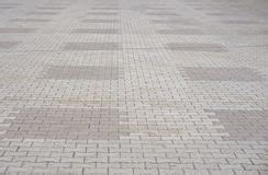 yellow patterned ground paving stone and cement stock photo image of design