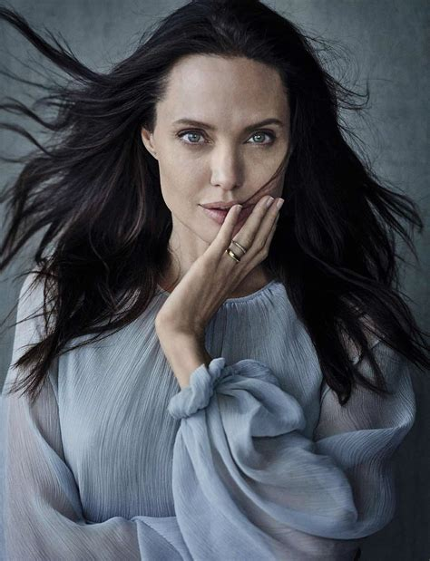 Angelina Jollie | angelina jolie by peter lindbergh for vanity fair magazine