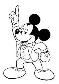 free printable mickey mouse coloring pages kids