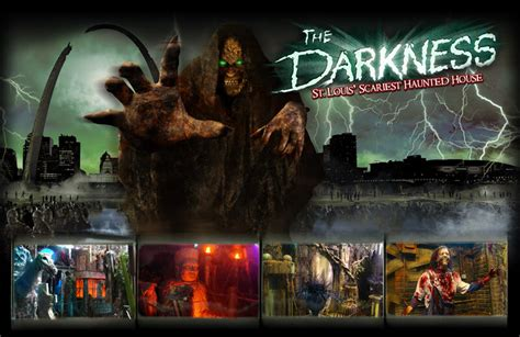 darkness haunted house haunted house in st louis missouri the darkness