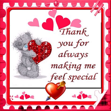 thank you letter to a friend for always being there thank you for always me feel special i am