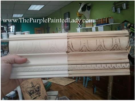 chalk paint white wax sanding chalk paint 174 before or after waxing the purple