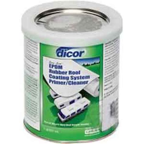 Dicor Rubber Roof Acrylic Coating by Dicor Rp Crp Q Dicor Rubber Roof Primer Cleaner Quart