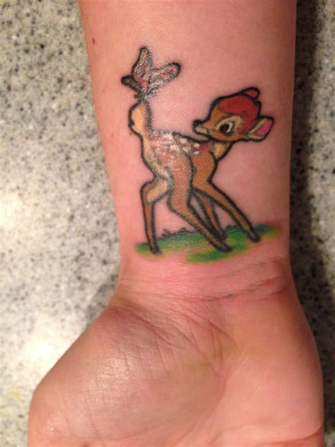 bambi tattoo photo