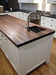prefinished walnut butcher block countertop add beauty and value to your home with our custom