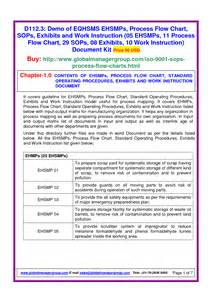 iso 9001 procedure templates free image gallery iso 9001 operating procedure