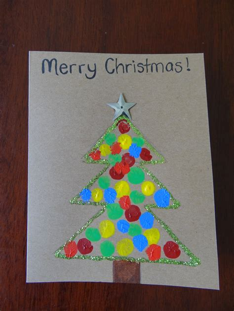 Cute Kitchen Ideas fingerprint christmas cards be a fun mum