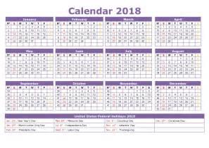 2018 Calendar Easter Dates 2018 Calendar With Holidays Us Uk Canada Australia