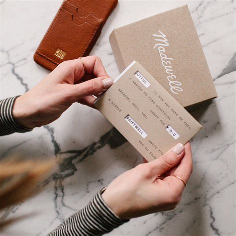 Madewell Gift Card - holiday fill in the blank a madewell gift card would be perfect for