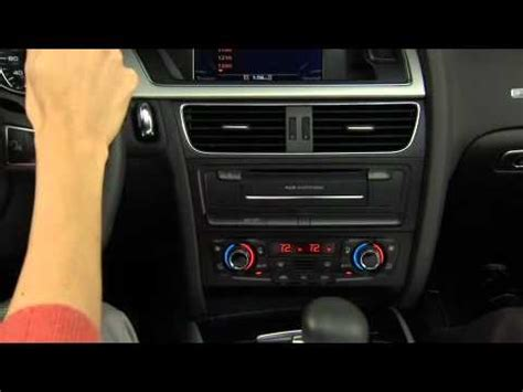 automobile air conditioning repair 2011 audi s6 electronic throttle control audi deluxe automatic air conditioning system a4 a5 q5 q7 tutorial youtube