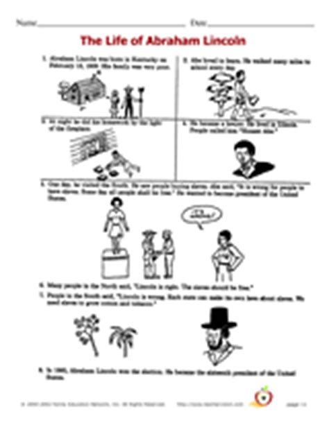 life of abraham lincoln crossword favorite presidents day printables gallery grades k 8