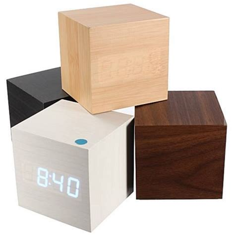 Led Digital Wood Clock Jk 828 jam digital led kayu jk 808 black blue jakartanotebook