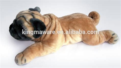 size pug stuffed animal realistic plush pug simulation stuffed pug plush plush pug soft