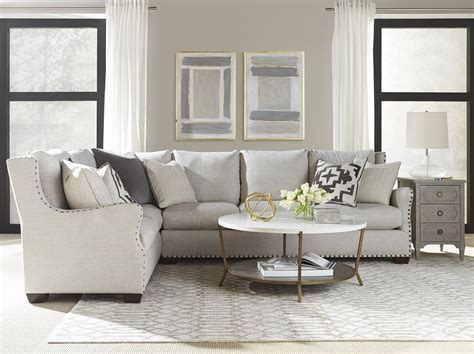 universal furniture connor sofa universal connor traditional sectional sofa with nail