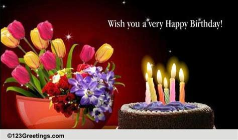 Wish You Smiles And Joy. Free Happy Birthday eCards