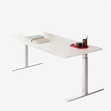 scrivania altezza regolabile pop scrivania operativa frezza gamba regolabile in altezza