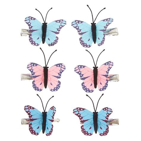 Sm Gift Card 2000 - kids pastel butterfly hair clips claire s us