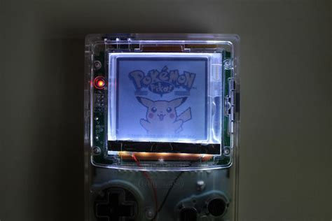gameboy color light mod game boy color frontlight install with loca all