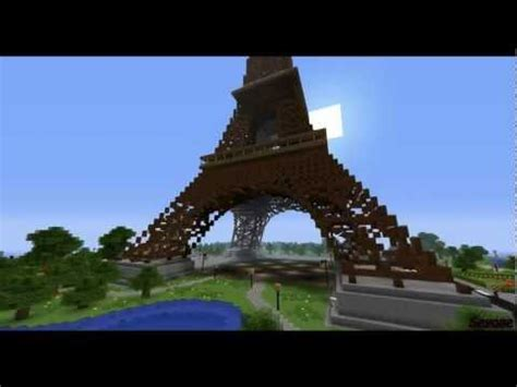link download film eiffel i m in love eiffel tower over 210 blocks height minecraft project