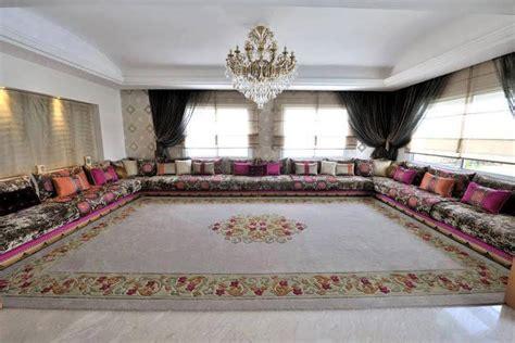 agréable Photo De Chambre Ado Fille #9: Salons-Marocains-traditionnels-Hasnae.com-deco-23.jpg