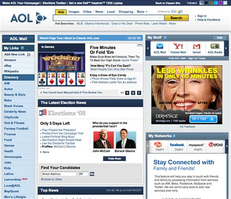aol original homepage related keywords aol original